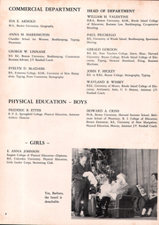Page 12, 1952 Edition, Cranston High School - Cranstonian Yearbook (Cranston, RI) online yearbook collection