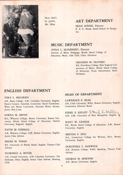 Page 13, 1952 Edition, Cranston High School - Cranstonian Yearbook (Cranston, RI) online yearbook collection