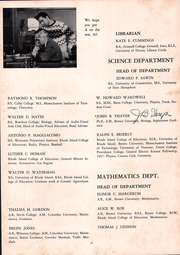 Page 15, 1952 Edition, Cranston High School - Cranstonian Yearbook (Cranston, RI) online yearbook collection