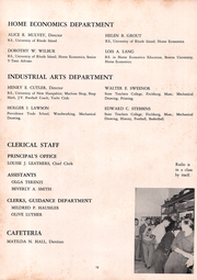 Page 16, 1952 Edition, Cranston High School - Cranstonian Yearbook (Cranston, RI) online yearbook collection
