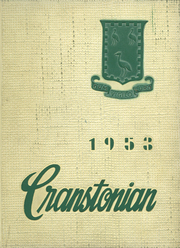 1953 Edition, Cranston High School - Cranstonian Yearbook (Cranston, RI)