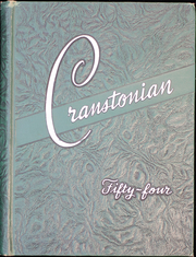 1954 Edition, Cranston High School - Cranstonian Yearbook (Cranston, RI)