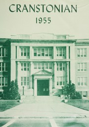 1955 Edition, Cranston High School - Cranstonian Yearbook (Cranston, RI)