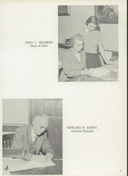 Page 11, 1957 Edition, Cranston High School - Cranstonian Yearbook (Cranston, RI) online yearbook collection