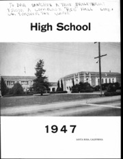 Page 5, 1947 Edition, Santa Rosa High School - Echo Yearbook (Santa Rosa, CA) online yearbook collection