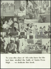 Page 9, 1948 Edition, Santa Rosa High School - Echo Yearbook (Santa Rosa, CA) online yearbook collection