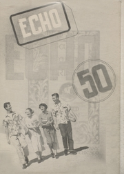 1950 Edition, Santa Rosa High School - Echo Yearbook (Santa Rosa, CA)