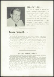 Page 10, 1955 Edition, Santa Rosa High School - Echo Yearbook (Santa Rosa, CA) online yearbook collection