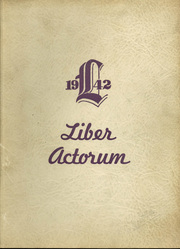 Page 1, 1942 Edition, Boston Latin School - Liber Actorum Yearbook (Boston, MA) online yearbook collection
