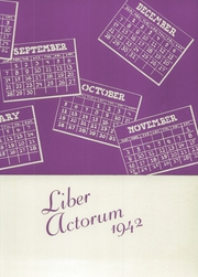Page 5, 1942 Edition, Boston Latin School - Liber Actorum Yearbook (Boston, MA) online yearbook collection