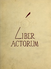 1946 Edition, Boston Latin School - Liber Actorum Yearbook (Boston, MA)