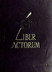 1947 Edition, Boston Latin School - Liber Actorum Yearbook (Boston, MA)