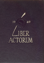 1949 Edition, Boston Latin School - Liber Actorum Yearbook (Boston, MA)