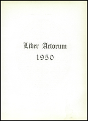 Page 7, 1950 Edition, Boston Latin School - Liber Actorum Yearbook (Boston, MA) online yearbook collection