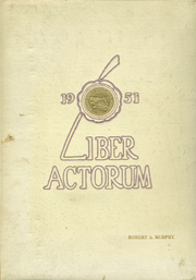 1951 Edition, Boston Latin School - Liber Actorum Yearbook (Boston, MA)