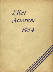 1954 Edition, Boston Latin School - Liber Actorum Yearbook (Boston, MA)