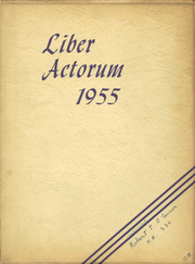 1955 Edition, Boston Latin School - Liber Actorum Yearbook (Boston, MA)