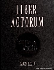 1964 Edition, Boston Latin School - Liber Actorum Yearbook (Boston, MA)
