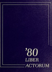 1980 Edition, Boston Latin School - Liber Actorum Yearbook (Boston, MA)