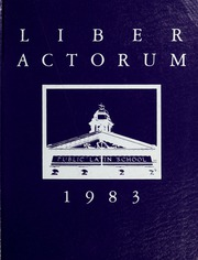 1983 Edition, Boston Latin School - Liber Actorum Yearbook (Boston, MA)