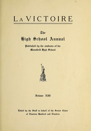 Page 13, 1919 Edition, Mansfield High School - Manhigan Yearbook (Mansfield, OH) online yearbook collection