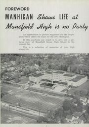 Page 8, 1947 Edition, Mansfield High School - Manhigan Yearbook (Mansfield, OH) online yearbook collection