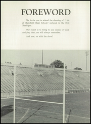 Page 8, 1948 Edition, Mansfield High School - Manhigan Yearbook (Mansfield, OH) online yearbook collection