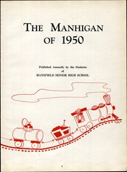 Page 7, 1950 Edition, Mansfield High School - Manhigan Yearbook (Mansfield, OH) online yearbook collection