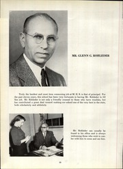 Page 14, 1952 Edition, Mansfield High School - Manhigan Yearbook (Mansfield, OH) online yearbook collection