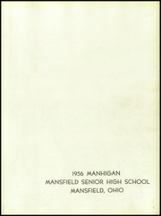 Page 3, 1956 Edition, Mansfield High School - Manhigan Yearbook (Mansfield, OH) online yearbook collection