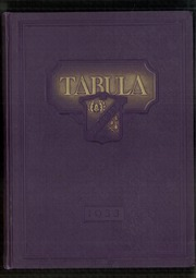 Page 1, 1933 Edition, Oak Park and River Forest High School - Tabula Yearbook (Oak Park, IL) online yearbook collection