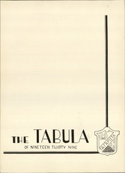 Page 5, 1939 Edition, Oak Park and River Forest High School - Tabula Yearbook (Oak Park, IL) online yearbook collection