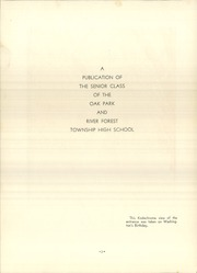 Page 6, 1939 Edition, Oak Park and River Forest High School - Tabula Yearbook (Oak Park, IL) online yearbook collection