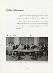 Page 14, 1957 Edition, Oak Park and River Forest High School - Tabula Yearbook (Oak Park, IL) online yearbook collection