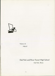 Page 5, 1957 Edition, Oak Park and River Forest High School - Tabula Yearbook (Oak Park, IL) online yearbook collection