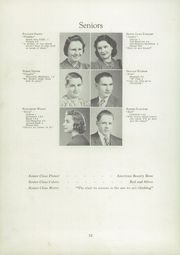 Page 16, 1940 Edition, Meridian High School - Mana Ha Sa Yearbook (Meridian, ID) online yearbook collection