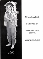 Page 5, 1966 Edition, Meridian High School - Mana Ha Sa Yearbook (Meridian, ID) online yearbook collection
