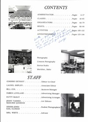 Page 6, 1966 Edition, Meridian High School - Mana Ha Sa Yearbook (Meridian, ID) online yearbook collection