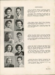 Page 15, 1949 Edition, Montpelier High School - Spartan Yearbook (Montpelier, IN) online yearbook collection
