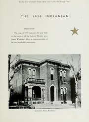 Page 7, 1950 Edition, Montpelier High School - Spartan Yearbook (Montpelier, IN) online yearbook collection