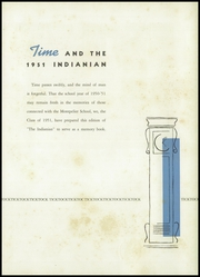 Page 7, 1951 Edition, Montpelier High School - Spartan Yearbook (Montpelier, IN) online yearbook collection