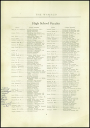 Page 6, 1925 Edition, West Allis High School - Wamago Yearbook (West Allis, WI) online yearbook collection