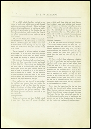 Page 9, 1925 Edition, West Allis High School - Wamago Yearbook (West Allis, WI) online yearbook collection