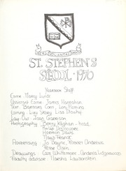 Page 7, 1970 Edition, St Stephens School - Yearbook (Rome, Italy) online yearbook collection