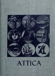1971 Edition, Bidwell School - Attica Yearbook (Stockton, CA)
