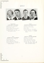 Page 12, 1937 Edition, West Liberty High School - Liber Tee An Yearbook (West Liberty, WV) online yearbook collection