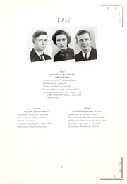 Page 13, 1937 Edition, West Liberty High School - Liber Tee An Yearbook (West Liberty, WV) online yearbook collection