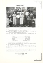 Page 15, 1937 Edition, West Liberty High School - Liber Tee An Yearbook (West Liberty, WV) online yearbook collection