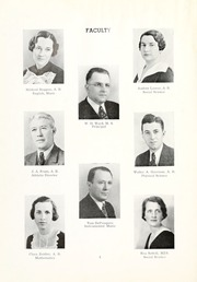 Page 8, 1937 Edition, West Liberty High School - Liber Tee An Yearbook (West Liberty, WV) online yearbook collection