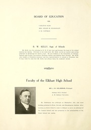 Page 16, 1920 Edition, Elkhart High School - Pennant Yearbook (Elkhart, IN) online yearbook collection